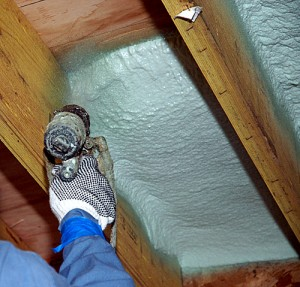 Spray Foam insulation has excellent coverage for use in attic insulation. Have it installed by Murray Insulation, 7603 Northwest River Park Drive, Kansas City, MO  64151.