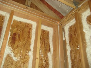 "<img scr="" Spray-foam-insualtion.jpg"" alt=""Spray foam insulation in walls, Kansas City, Murray Insulation"">"