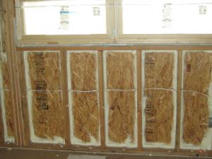 Combining Spray Foam with fiberglass this picture framing method has the coverage of foam with the value of fiberglass. Only Murray Insulation, 7603 Northwest River Park Drive, Kansas City, MO  64151 does this for customers.